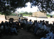 Caminhada da Igreja Evangélica Luterana em Moçambique