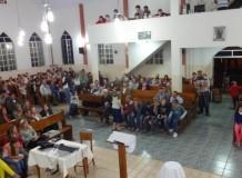 Culto com Santa Ceia, oração memorial e anúncio de bênção matrimonial na Comunidade de Belém/ES
