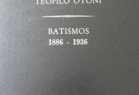 Livros de Registro da Comunidade Evangélica de Teófilo Otoni/MG em formato digital