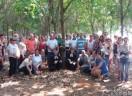 Culto pelo início da produção do seringal da Comunidade de Gaúcha do Norte/MT