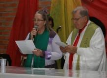 Paróquia de Ernestina participa de Missa Crioula