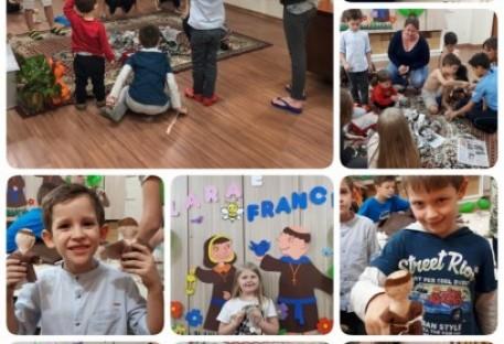 Vida e histórias de Francisco e Clara de Assis foram tema do Acampadentro da Comunidade São Lucas em Porto Alegre