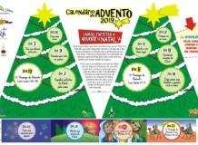 Calendário de Advento da Revista O Amigo das Crianças