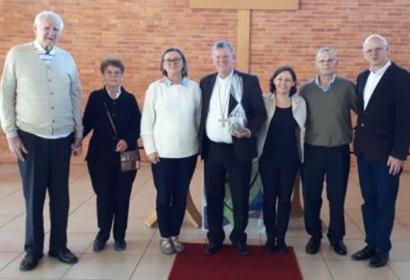 Visita do Arcebispo Metropolitano de Porto Alegre/RS à Paróquia São Lucas