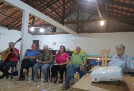 Palestra no Grupo de Casais de São Francisco do Sul/SC