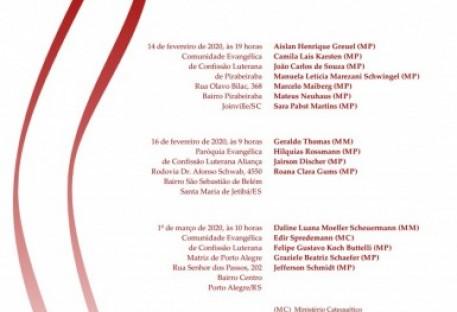 Culto de Ordenação ao Ministério Eclesiástico - Pirabeiraba - Joinville/SC