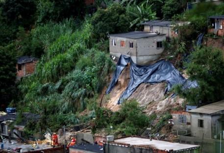 Chuvas em Minas Gerais.