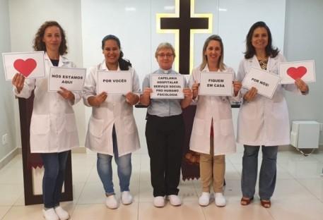 Capelania Hospitalar em Tempo de Quarentena - Perseverança na oração e na bênção