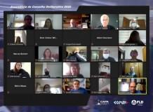 Conselho Deliberativo da FLD se reúne por videoconferência para sua XXI Assembleia Ordinaria