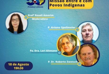 [Live] Missão entre e com Povos Indígenas