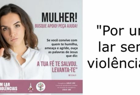 CAMPANHA   Por um lar sem violências! - Sínodo Nordeste Gaúcho