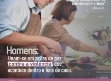 CAMPANHA   Por um lar sem violências! - Homens