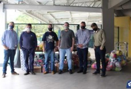 Olimpíada Solidária do Bonja arrecada mais de 2 toneladas de alimentos