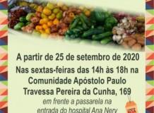 Ecovale abre nova feira agroecológica em parceria com comunidade da IECLB