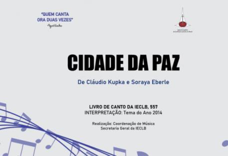 Cidade da Paz - Cláudio Kupka e Soraya Eberle