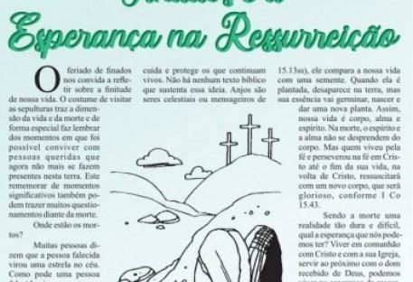 Jornal do Sínodo Uruguai - edição digital -  nº 07 - Novembro 2020