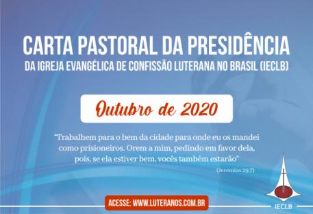 Carta Pastoral da Presidência da IECLB - Outubro de 2020