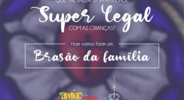 Brasão da família - Revista O Amigo das Crianças