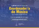 Vaga na IECLB - Coordenador/a de Música