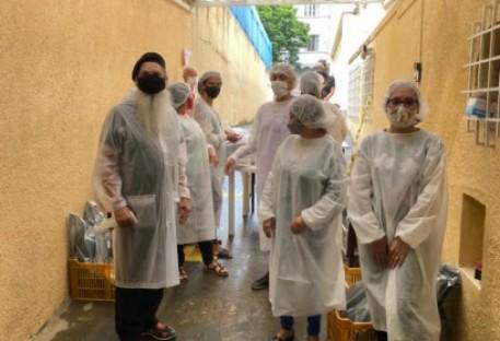 Creche Bom Samaritano/RJ faz entrega de cestas básicas