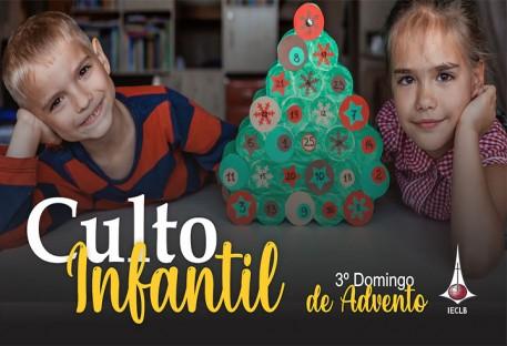 Culto Infantil - 3º Domingo de Advento 2020