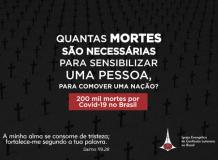 200 mil mortes por Covid-19