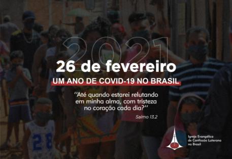 Nota da Presidência da IECLB: um ano de Covid-19 no Brasil