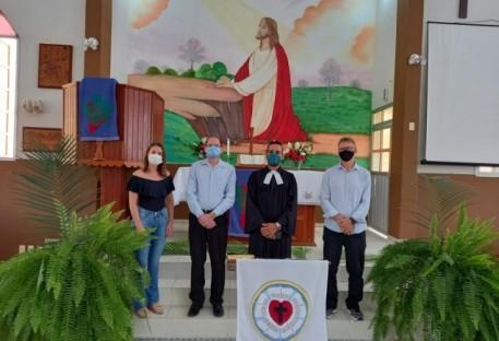 Culto On-line de Domingo de Ramos na Paróquia Aliança