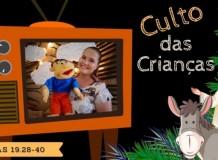 Culto das Crianças - Paróquia do ABCD - Santo André/ SP - 28/03/2021
