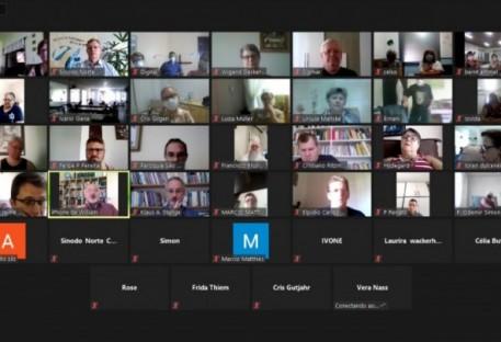 Encontro Virtual das Lideranças dos Grupos de Pessoas Idosas