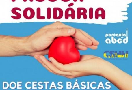 Páscoa Solidária: Você pode ajudar quem precisa! Campanha de doações de cestas básicas - Páscoa de 2021 - Santo André/SP