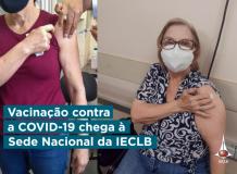 Vacinação contra a Covid-19 chega à Sede Nacional da IECLB
