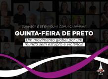 Conheça a campanha Quinta-feira de Preto (Thuerdays in Black)