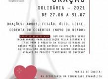 IECLB em Lajeado/RS inicia Campanha de Ação de Graças Solidária