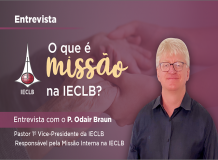 O que é missão? - Entrevista com o P. Odair Braun