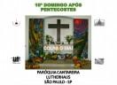 Culto: 10° Domingo após Pentecostes - Paróquia Cantareira - Lutherhaus - São Paulo/SP - 01/08/2021