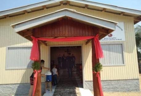 Dedicação do Templo da Comunidade Cristo Vive de Conselvan-MT
