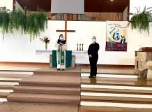 Comunidade Trindade em Ivoti realiza Culto de apresentação  da candidata ao Ministério