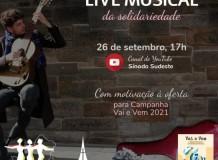 Live Musical da Solidariedade - Campanha Vai e Vem - Sínodo Sudeste -  26/09/2021