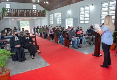 Comunidade de Gaspar Alto celebra 70 anos