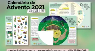 Chegou o Calendário de Advento 2021